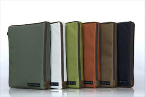 WaterField Designs iPad Wallet - A Travel Case for your iPad and Wireless Keyboard. Six colors