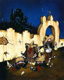 Muchachos Borrachos by David Lozeau