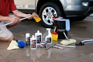 car care system, car care chemicals, appearance chemicals, cleaner, polish