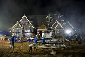 Maxwell Systems' client, Dolan Construction, is a significant contributor to ABC's 'Extreme Makeover: Home Edition' project airing October 24, 2010. (Photo provided by Dolan Construction)