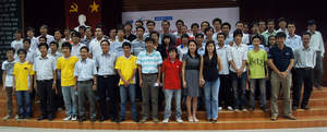 The participants of NetRiders Skills competition for Vietnam in 2010.