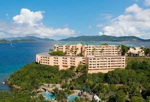 The all-inclusive Wyndham Sugar Bay Resort and Spa