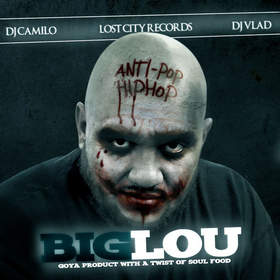 """Goya Product with a twist of soul food"" ""Big Lou"" ""Hip Hop"" ""Greatest Mixtape Ever"""