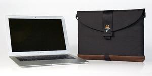 The WaterField Designs custom-fitted MacBook Air SleeveCase