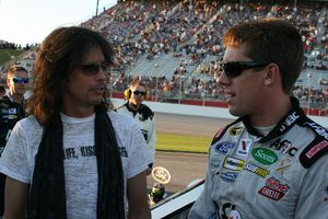 Foreigner, Kelly Hansen, NASCAR, Carl Edwards