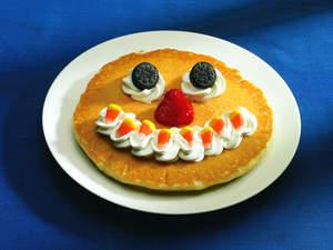 Free IHOP Scary Face Pancake