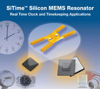 MEMS, Resonator, Real Time Clock, Time-Keeping, Silicon