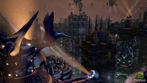 NVIDIA's Endless City harnesses the horsepower of the GeForce GTX 580's incredible tessellation engines to procedurally generate urban detail never before possible in an interactive world. Sit back, relax and enjoy the view.
