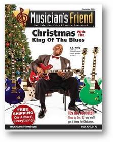 Musician's Friend December Catalogue