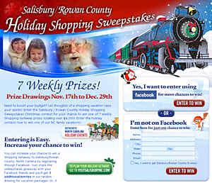 Rowan County, North Carolina Holiday Sweepstakes to Bring Christmas Cheer