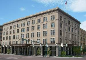 The Mining Exchange, a Wyndham Grand Hotel in Colorado Springs, Colo.