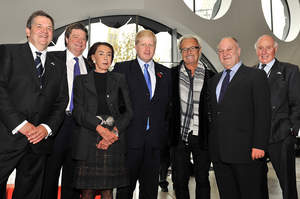 Mick Jones, Foreigner, Mayor of London, Ravensbourne, Harvey Goldsmith, Ertegun