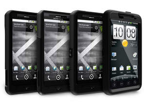 OtterBox Cases for DROID X by Motorola and HTC EVO 4G.