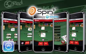 Spin3's Blackjack app on the appstore