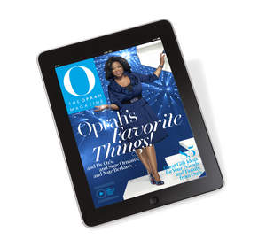 O, The Oprah Magazine comes to the iPad, available for $3.99 from the App store on iPad or at www.itunes.com/appstore/.