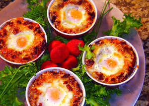 Baked Egg Casserole