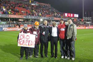 Colorado Rapids and FC Dallas Designated Drivers for the Season attend MLS Cup 2010