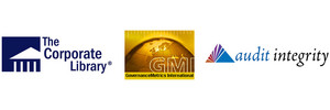 Logos of The Corporate Library, GMI and Audit Integrity