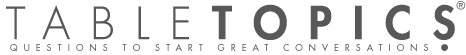 TableTopics, Inc.