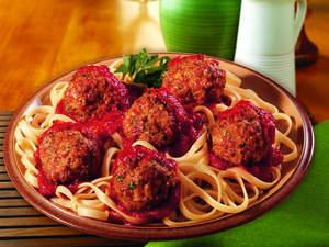 Old-Fashioned Italian Meatballs