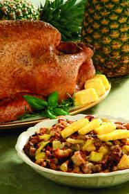 Pineapple Sausage Stuffing