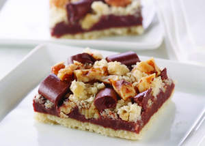 Chocolate Layer Crumb Bars