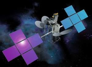 Cisco Internet Router in Space Satellite