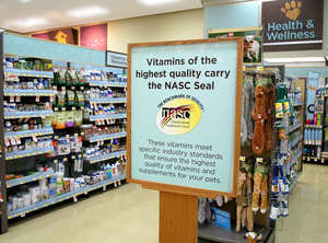 animal supplements, animal health supplements, PETCO, NASC, dog, cat