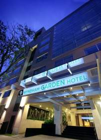 The 70-room Wyndham Garden Hotel Panama City