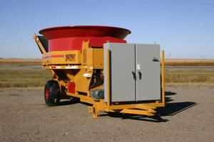 Haybuster, tub grinder, electric, green, H-1130 EL, grinder, agriculture, farming