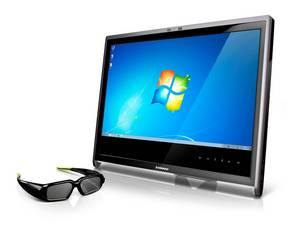 Lenovo L2363d 23-inch 3D Vision monitor