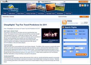 Cheapflights.com's Top Five Travel Predictions for 2011