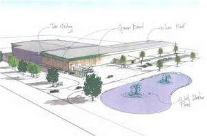 Architectural Rendering of Proposed Facility