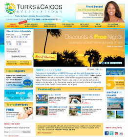 Turks and Caicos Reservations Homepage