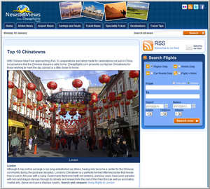 Cheapflights.com Top 10 Chinatowns