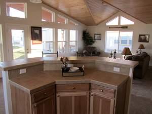 Custom modular model home