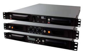 1U Rackmount storage systems are extremely versatile with RAXÂ¿ removable 2-bay enclosures from CRU.