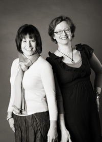 Ginger Principals Beth Perro-Jarvis and Mary Van Note