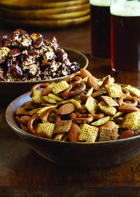 Add healthy almonds to your game day party mix or make Cocoa-Almond Popcorn.