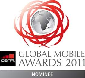 GSMA Global Mobile Awards Nominee 2011