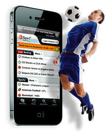 Spin3's new sportsbetting app