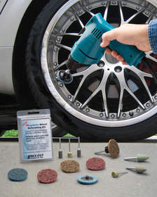 Rex-Cut's Megabrite Wheel Refinishing Kit