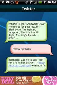 HeyTweets: Twitter via SMS
