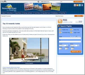 Cheapflights.com Top 10 Romantic Hotels