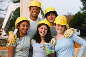 Young people all over the country are making a difference by volunteering in their communities.