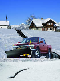 The new Home Plow by Meyer provides a fast and convenient option for clearing even the longest driveways of snow within minutes.
