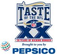 Taste of the NFL, hunger relief, food banks, kick hunger