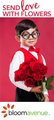 Bloom Avenue, love, Valentine's Day, floral, Valentines Day gifts, presents, send flowers, online