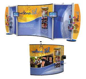 High-quality pop-up displays from E & E Exhibit Solutions