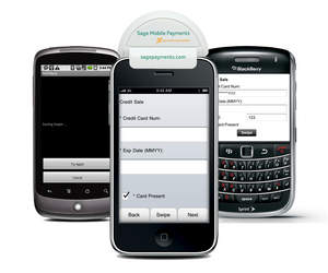 The optional Sage Mobile Payments card reader offers end-to-end encryption from the card reader device to the application.